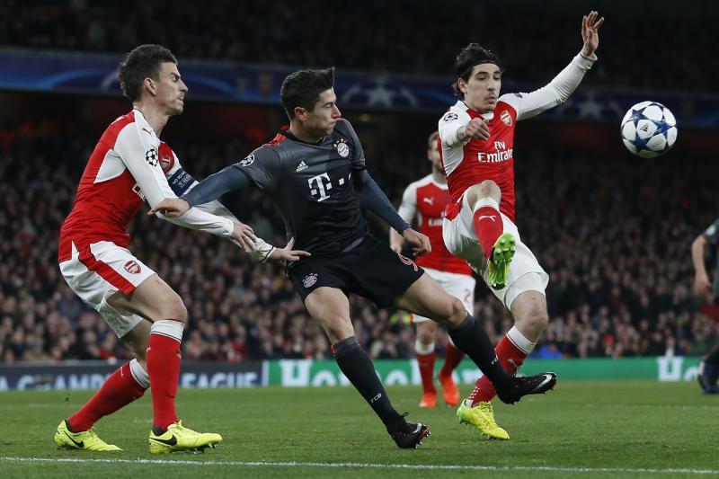 Arsenal set to face Bayern Munich